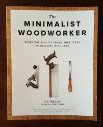 Woodworking Tools List by The Minimalist Woodworker