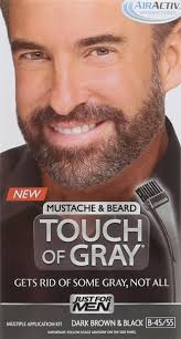 amazon com just for men touch of gray mustache and beard color