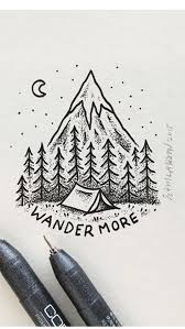 130 best 3d doodles images best 25 mountain sketch ideas on pinterest mountain drawing