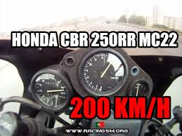 honda cdr bike honda cbr 250rr top speed 200 km h youtube