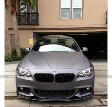 diamond bmw 2013 bmw f10 535i m sport hamann wrapped in matte dark grey by dbx