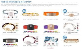 medical id bracelets for women medical bracelets for women stuff seniors need
