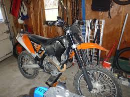 2008 ktm 250xcf w project adventure rider