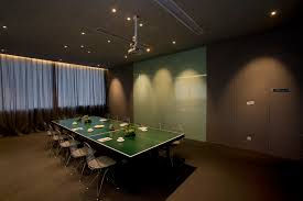 Ping Pong Conference Table Goelia Headquarter By Clifton Leung Design Workshop Guangzhou