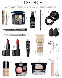 Makeup Basics 10 Must Makeup by The Essentials Makeup Kit Style Guide