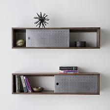 Wooden Bedside Bookcase Shelving Display Slide Wall Mounted Shelf Wall Mounted Shelves Mounted Shelves