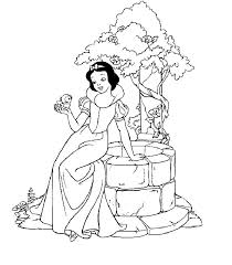 25 snow white coloring pages ideas snow white