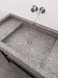 wash basin in terrazzo by marc merkx interior designer love
