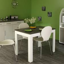 table de cuisine contemporaine table de cuisine rectangulaire contemporaine blanche béton daliane