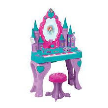 frozen vanity table toys r us pink ride on toys for girls disney princess carriage 24v battery