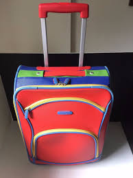 United Luggage by Vintage United Colors Of Benetton Carry On Suitcase Luggage