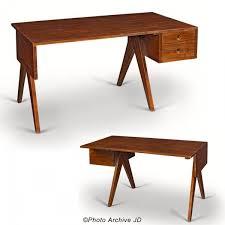 bureau en jeanneret bureau en teck massif furniture