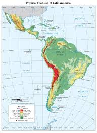 Geographical Map Of Usa Physical Map Of Mexico And Central America Also Usa World Maps
