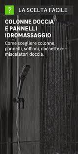 doccia facile soffioni doccia prezzi e offerte per soffioni bracci e accessori