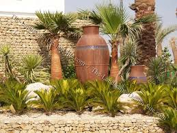 Tropical Potted Plants Outdoor - tropical mediterranean container garden mediterranean garden