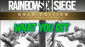 what does siege tom clancy s rainbow six siege year 2 gold edition xbox one buy