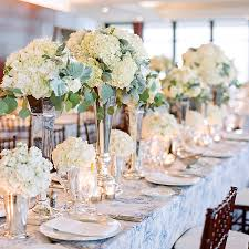 hydrangea wedding centerpieces a nautical white wedding in annapolis vase centerpieces