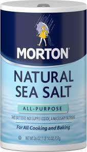 sea salt equivalent to table salt morton all purpose sea salt morton salt