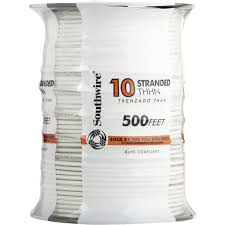 Southwire In Wall Digital 7 by Southwire 10 Awg Stranded Thhn Wire 22974057 Taylors Do It Center