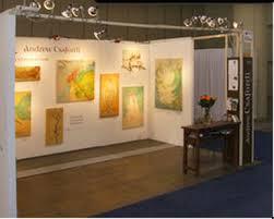 art show display lighting sleek trade show booth design with art spot lighting trade show