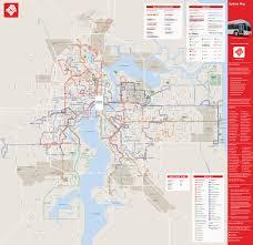 Jacksonville Map Jta U0027s New Bus System Debuts Today Metro Jacksonville