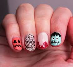 kids halloween nail art images nail art designs