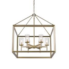 Where To Buy Cheap Chandeliers by Gold Chandeliers Hanging Lights The Home Depot