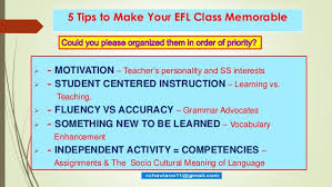 5 tips to make your class memorable2015