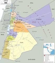 Gennesaret Map Political Map Of Jordan Gif