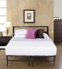 Bed With Frame And Mattress Brand Metal Bi Fold Platform Bed Frame Base