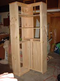 Do It Yourself Home Projects by Corner Bookshelf Plans Corner Shelf Do It Yourself Home Projects