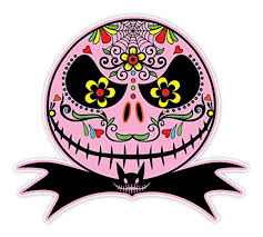 Jack Skellington Home Decor by Online Store Osmdecals Mexican Sugar Skull Version 108 Jack
