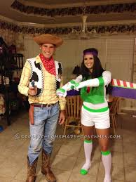 coolest and most believable homemade woody and buzz lightyear
