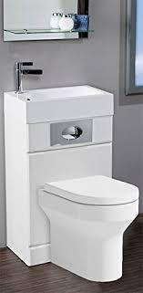 Futura Space Saving Toilet And Basin Pack Amazon Co Uk Kitchen Home