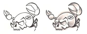 freebies tattoo designs cancer crab by tattoosavage on deviantart