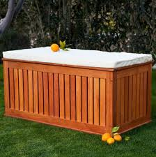 Patio Storage Chest by Furniture Outside Storage Boxes Wooden Outdoor Cedar Storage