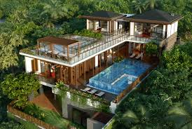 Pool House Plan by House Plans Tropical Design Hahnow