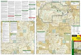 Caprock Canyon State Park Map by Theodore Roosevelt National Park National Geographic Trails