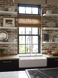 Apron Sink With Backsplash by Exposed Brick Apron Sink U2026 Pinteres U2026