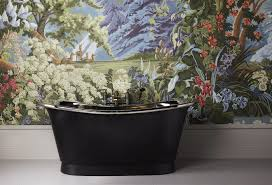 the tyne luxury copper bath with nickel interior u0026 painted exterior