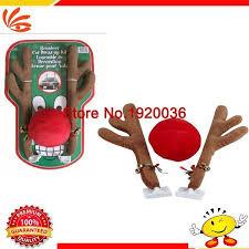 Christmas Reindeer Car Decorations by Car Styling Car Decoration Reindeer Christmas Car Costume Auto
