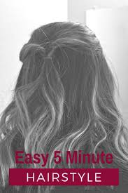 www hairsnips com old easy 5 minute hairstyle hair style and hair inspiration