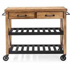 crosley furniture roots rack industrial kitchen cart walmart com