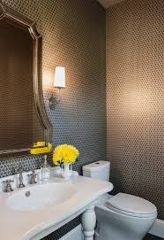 small bathroom wallpaper ideas bathroom ideas mural bathroom wallpaper with wooden bench