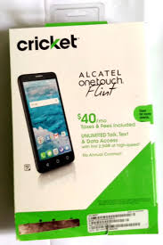 black friday cricket phone sale 2017 alcatel onetouch flint 16gb black cricket smartphone ebay