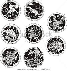 round tattoo stock images royalty free images u0026 vectors