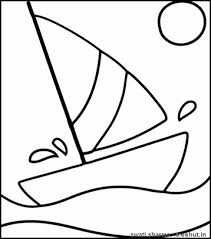 boat coloring pages coloring pages pinterest boating boat