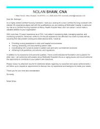 Cna Resume Sample With No Work Experience Sample Cover Letter For Cna Resume Elegant Cna Cover Letter With