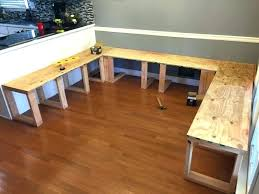 how to build a kitchen island with seating how to build a kitchen table garno club