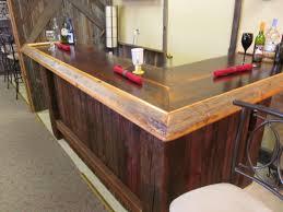 barnwood desk diy reclaimed wood bar made from barn bars